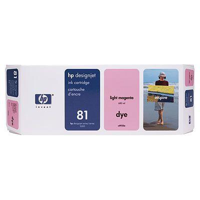 Ver HP CONSUMIBLE Cartucho de tinta de color magenta claro HP 81 de 680 ml