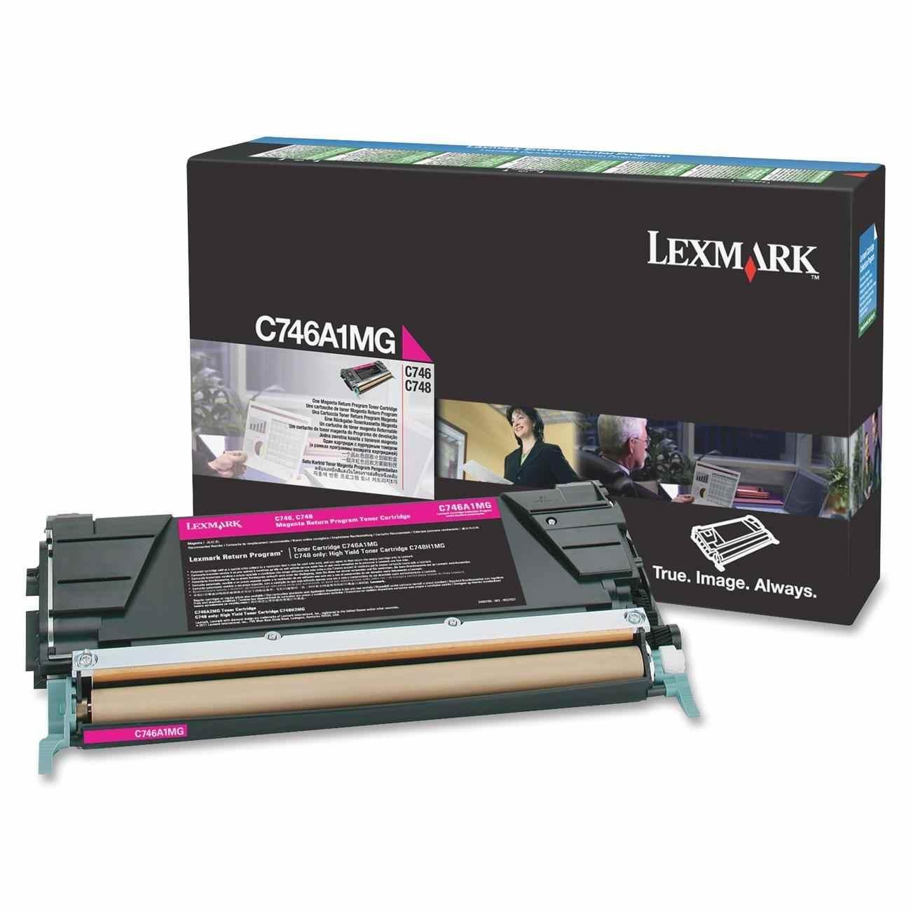 Ver Lexmark C746A1MG