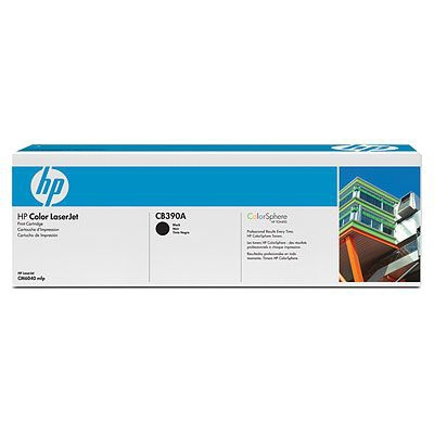 HP CONSUMIBLE Cartucho de impresion negro HP Color LaserJet CB390A