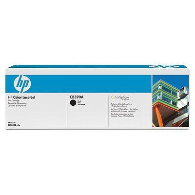 Ver HP CONSUMIBLE Cartucho de impresion negro HP Color LaserJet CB390A