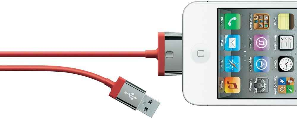 BELKIN MIXIT ChargeSync  2m F8J041CW2M-RED