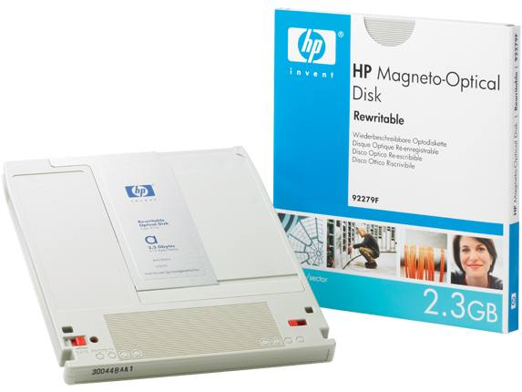 Hp Consumible Disco Mo Regrabable Hp De 2 3 Gb Y 512 Bps