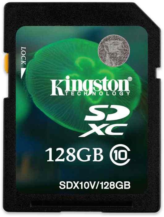Kingston Sdxc Card Class 10
