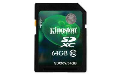 Kingston 64gb Sdxc Card Class 10