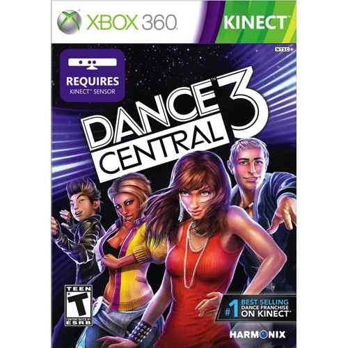 Microsoft Dance Central 3  Dvd  Xbox 360