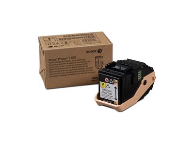 Xerox Phaser 7100  Cartucho De Toner Amarillo De Capacidad Normal  4500 Paginas