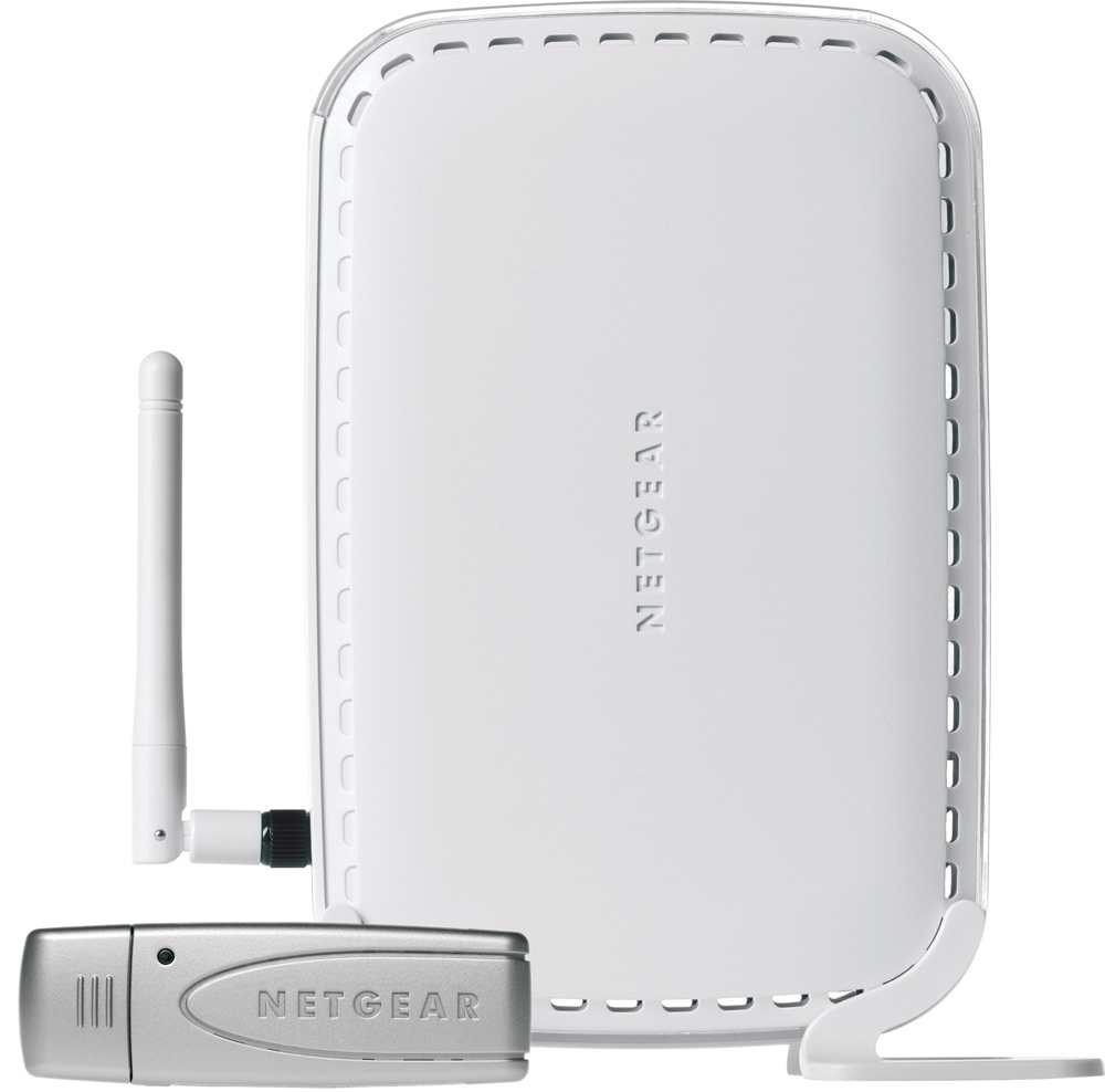 Netgear Wireless-g Modem Router Network Starter Kit