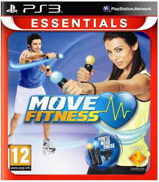 Sony Move Fitness  Essentials  Ps3