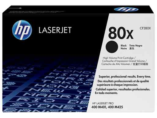 Ver HP CONSUMIBLE 80X