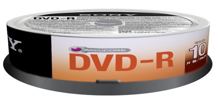Sony DVD-R 16x  10