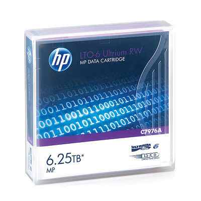 HP CONSUMIBLE LTO-6 Ultrium 625TB MP RW Data Cartridge