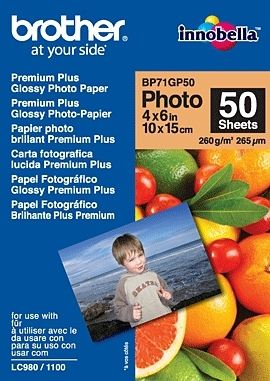 Brother Bp71gp50 Premium Glossy Photo Paper
