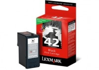 Lexmark No42 Black Return Program Print Cartridge Blister
