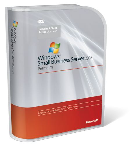 Windows Small Business Server 2008 Premium  Olp 5 Nl Ae User Cal Qualified  Single