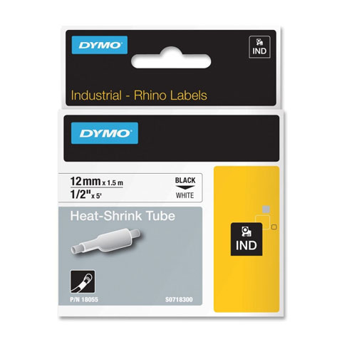 Ver Dymo 12mm RhinoPRO Heat shrink tubes