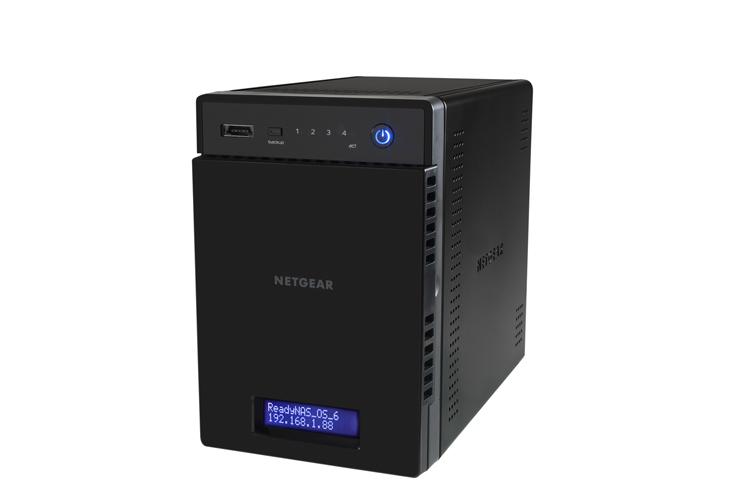 Netgear Readynas 104 4-bay