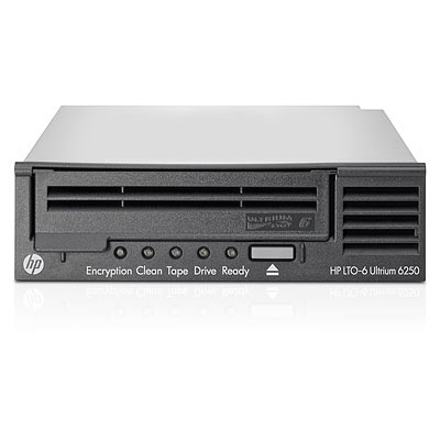 Hp Storeever Lto-6 Ultrium 6250 Internal Tape Drive With  5  Lto-6 Media