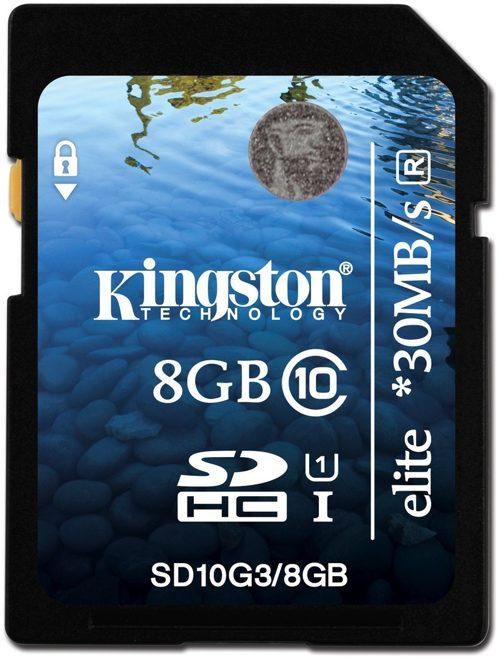Kingston Technology 8gb Class 10 Uhs-i Elite