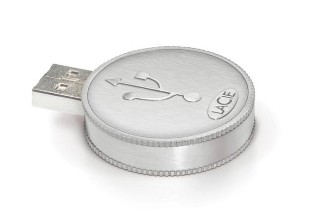 Lacie Currenkey Usb Flash Drive 8gb