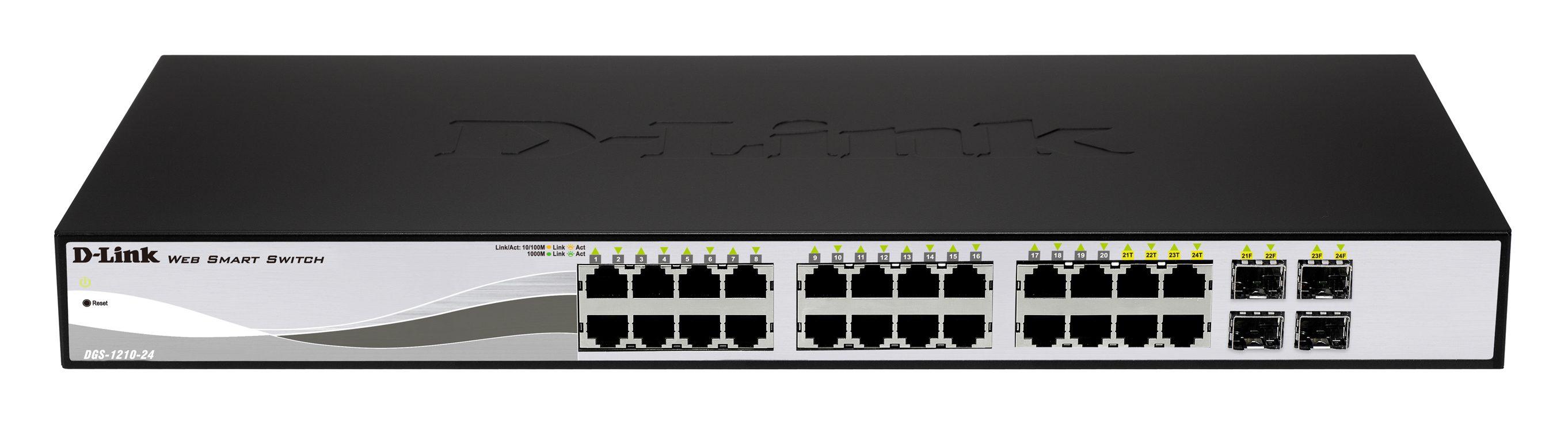 D-Link DGS-1210-24P switch