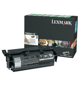 Lexmark T650  T652  T654 Return Program Print Cartridge