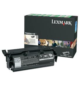 Ver Lexmark T650  T652  T654 Return Program Print Cartridge