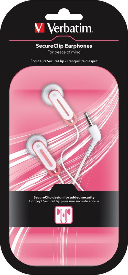 Verbatim Secureclip Earphones 41828