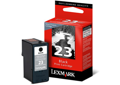 Lexmark 23 Black Return Programme Print Cartridge