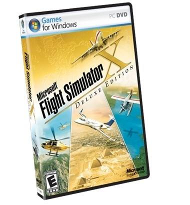 Microsoft Flight Simulator X  Deluxe Edition  MX