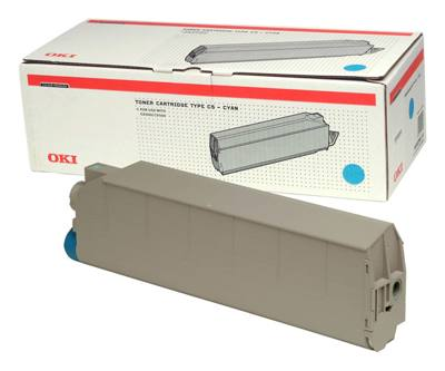 Oki Cyan Toner Cartridge For C9300 C9500