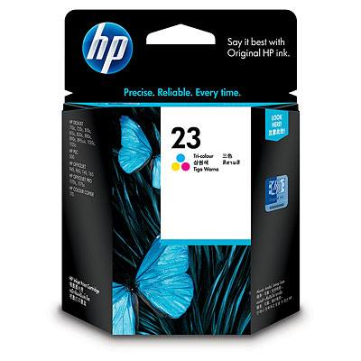 Hp Consumible Cartucho Tricolor De Inyeccion De Tinta Hp 23