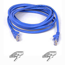 Belkin Cable Patch Cat5 Rj45 Snagless 3m Blue