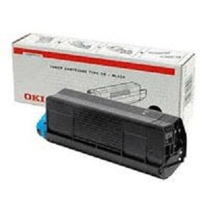 Oki Black Toner Cartridge 3000sh F C5250 5450 5500mfp