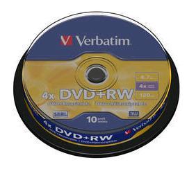 Ver Verbatim DVD RW Matt Silver