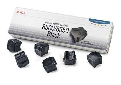 Xerox Tinta Solida Negra De Marca Xerox 8500