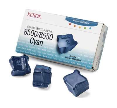Ver Xerox Tinta solida cian de marca Xerox 8500
