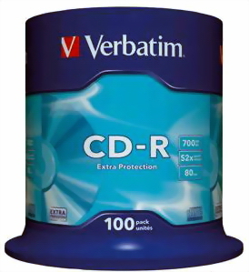Verbatim Cd-r Extra Protection 43411
