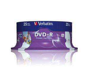 Verbatim Dvd R Wide Inkjet Printable Id Brand