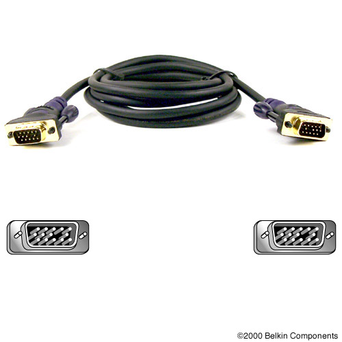 Belkin Gold Series Vga Monitor Signal Replacement Cable 75m