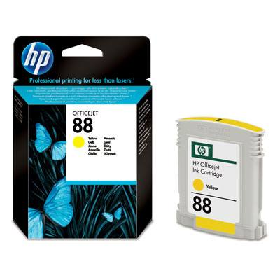 Ver HP CONSUMIBLE Cartucho de tinta amarilla Officejet HP 88