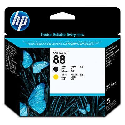 Ver HP CONSUMIBLE Cabezal de impresion Officejet negro y amarillo HP 88