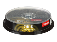 Imation Dvd R 47gb 16x Cakebox  10