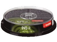 Imation Dvd-r Cakebox 10-pack