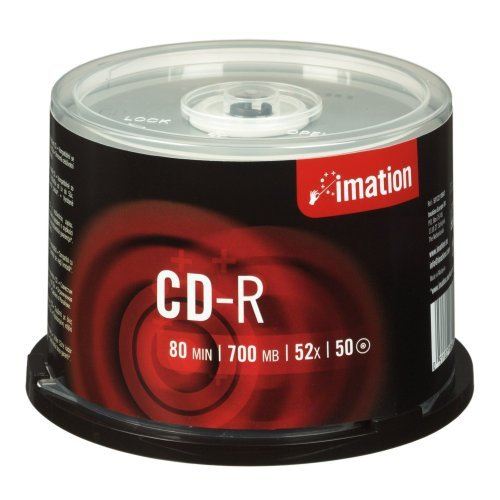Imation Cd-r  700mb  52x  Spindle  50 Pack