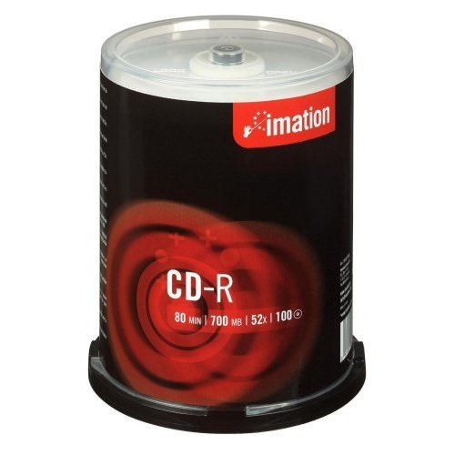 Imation Cd-r  700mb  52x  Spindle  100 Pack