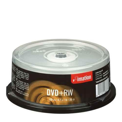 Imation Dvd Rw  4x  47gb  Spindle  25pcs