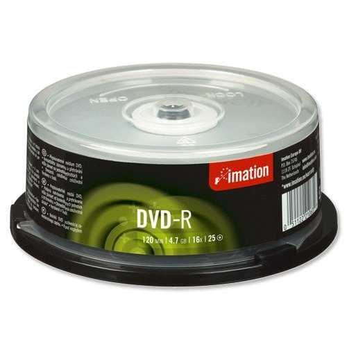 Imation Dvd-r  16x  47 Gb  Spindle  25 Pcs