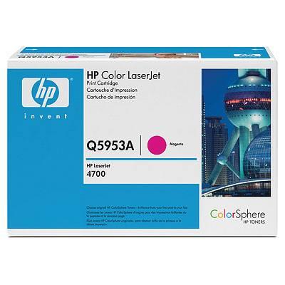 HP CONSUMIBLE Cartucho de impresion magenta para HP Color LaserJet Q5953A