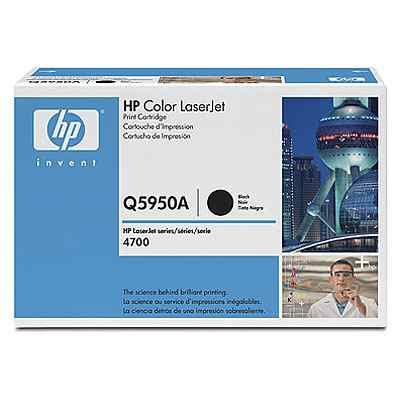 HP CONSUMIBLE Cartucho de impresion negro HP Color LaserJet Q5950A