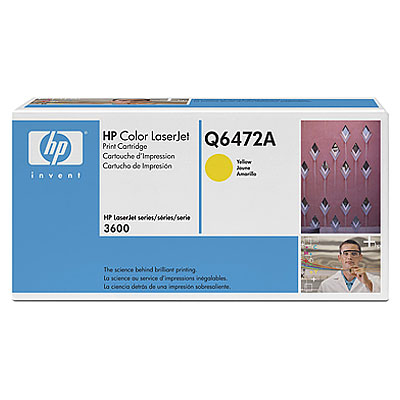 Ver HP CONSUMIBLE Cartucho de impresion amarillo HP Color LaserJet Q6472A